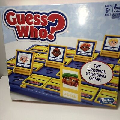 Guess Who? Classic Kids Family Fun Activity Board Gaме Hasbro Gaming Brand NEW