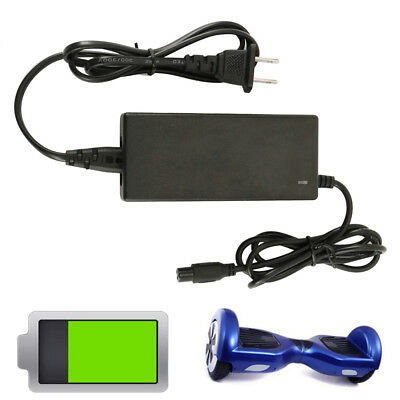 36V 2A Power Adapter Charger For 2 Wheel Self Balancing Scooter Hoverboard CA