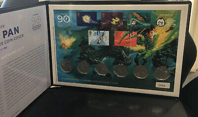 2019 peter pan 50p Coin And Stamp Collection No 86 Out Of A strict 750