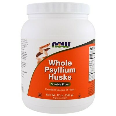 Now Foods, Whole Psyllium Husks, 340 g (12 oz)