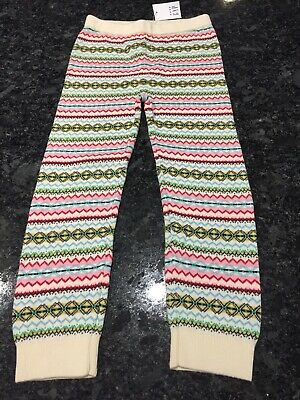 BNWT Girls Gap Knitted trousers age 4 years