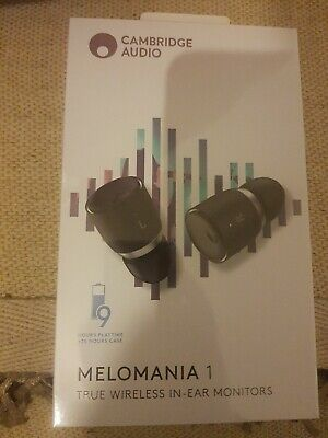 Cambridge Audio Melomania 1True Wireless Earbuds In-Ear Monitors 9 HRS playtime