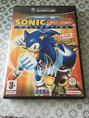 Sonic Gems Collection Complet FR Nintendo Game Cube