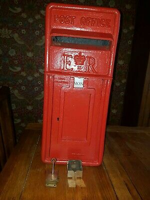 original royal mail post office lamp box  gpo letter genuine