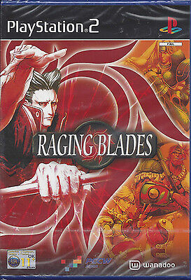 Ps2 PLAYSTATION 2 Raging Blades New Sealed Version Import English