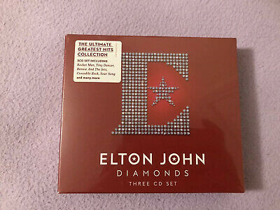Elton John - Diamonds- The Greatest Hits - 3X Cd Boxset! *New & Sealed!* *L@@K!*