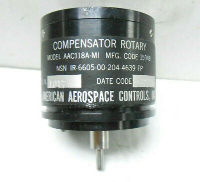 Aac118A-Mi American Aerospace Controls Compensator Rotary, New Old Stock