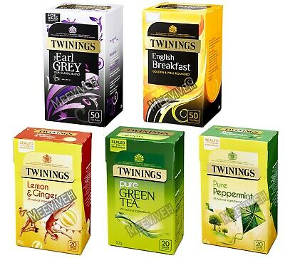 Twinings Loose Tea Bags Classic And Variety 5 Flavoured Selections