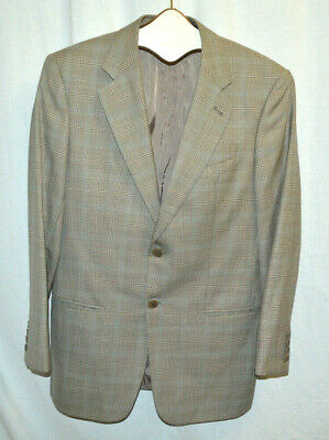 Giorgio Armani Size 38R Wool 2 Button Sport Coat Blazer Tan MSRP $1395 VGUC