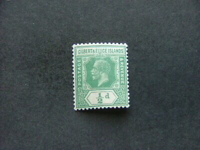 Gilbert & Ellice Islands KGV 1923 ½d green SG27 LMM