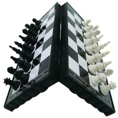 Magnetic Folding Chess Board Portable Set With Pieces Games Sport Children Toy