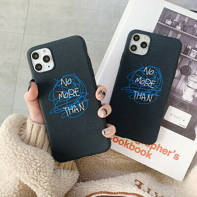 IMD Soft Rubber Shockproof Doodling Case For iPhone 11 Pro Max Xs XR 7 8 6 Plus
