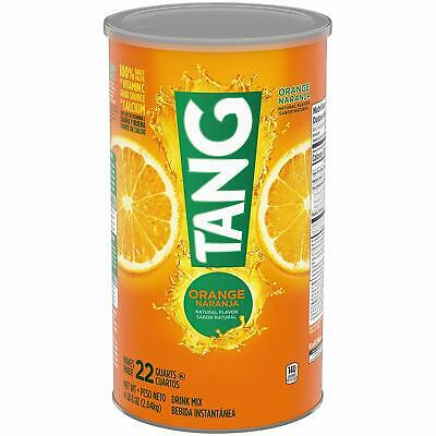 Tang Orange Powdered Drink Mix 2.04kg (72 oz ) Large Tub - American Import