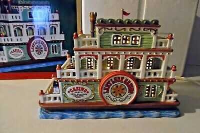 Lemax Lighted, LADY LUCK CASINO BOAT 65146, Sears Exclusive