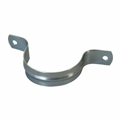 """ZORO SELECT 0500381280 Galvanized Steel Two Hole Strap 2/"""" Pipe Size"""