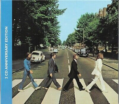 Abbey Road [Slip Case] * by The Beatles (2019, 2 CD, 50th Anniversary Edition)