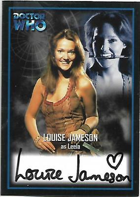 Doctor Who - Series Two Autograph Card AU7 Louise Jameson - Leela