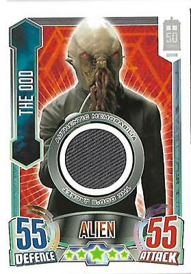 Dr Who Alien Attax 50th Anniversary Edition Costume The Ood's Jacket [# to 3100]