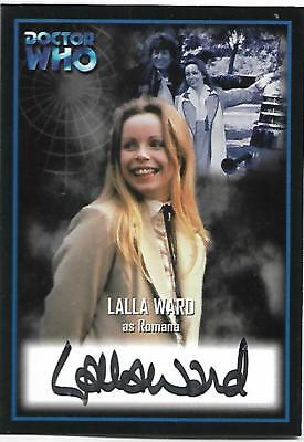 Doctor Who - Series Two Autograph Card AU1 Lalla Ward - Romana