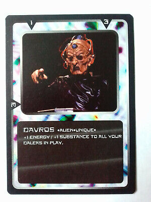 Doctor Who - CCG Card Game Ultra Rare Card Davros MMG - 1996