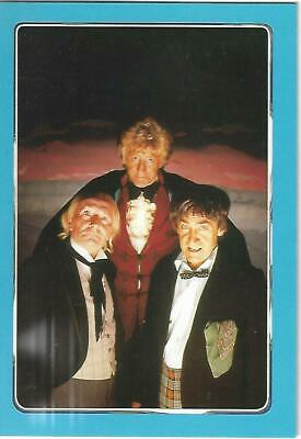 Doctor Who Series One Box Topper Post Card - Three Doctors