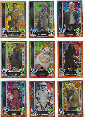 Star Wars Force Attax-Extra 9 Limited Edition Promo Set 15 QUIGGOLD