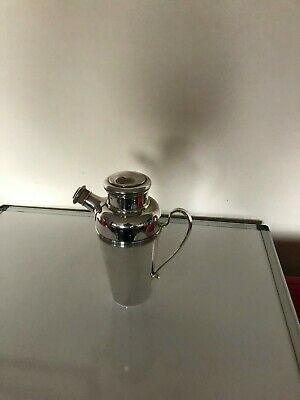 Beautiful Silver Plated Deco Cocktail Shaker (Kingsway Plate 1.25 Pint Quantity)