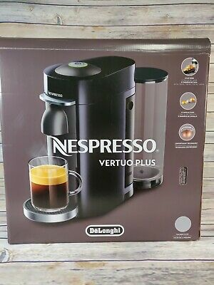 Nespresso Vertuoplus Deluxe Coffee And Espresso Machine By De'longhi, Silver