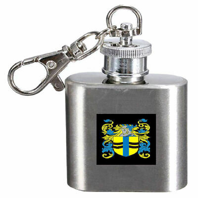 Select Gifts Mccleary Ireland Family Crest Surname Coat Of Arms Cufflinks Personalised Case