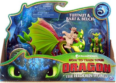 How to Train Your Dragon Tuffnut and Belch Barf Action Figure Set (NEW+SEALED)