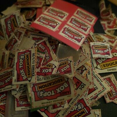 170 + Box Tops for Education - None expired - Neatly Trimmed