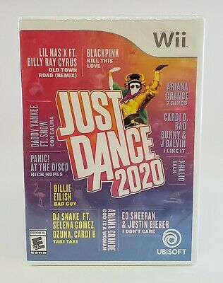 Just Dance 2020 Nintendo Wii Brand New Factory Sealed