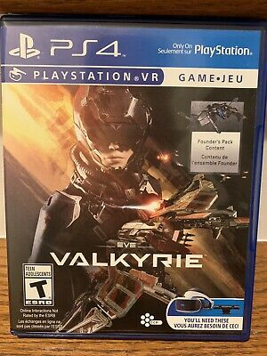 PS4 Playstation VR Game Valkyrie (2016)