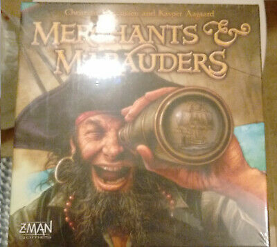 Merchants and Marauders board game Pirates theme  Z-man out of print NEW sealed