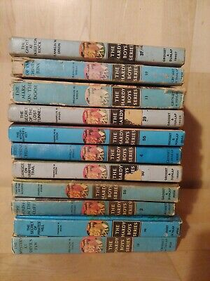 Vintage The Hardy Boys Lot Of 10 Books