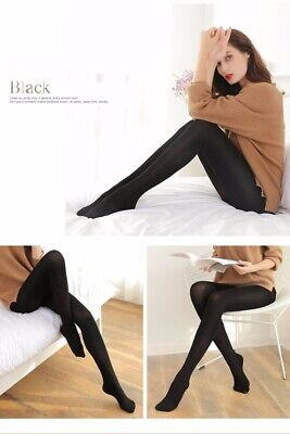 NEW Women Soft Winter Footed Warm Tights Thick Opaque Stockings Pantyhose Large