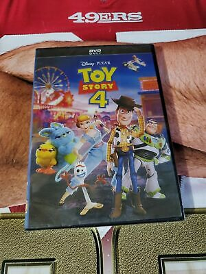 Toy Story 4 (DVD, 2019) Brand New & Sealed
