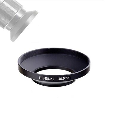 40.5mm Screw-in Matel Wide Angle Lens Hood for Sony A6000 E PZ 16-50mm Lens