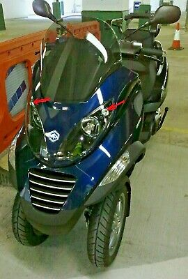 Piaggio MP3  Vespa LED parking light ,Gilera Fuoco super bright upgrade 2 x bulb