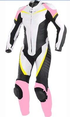 Women Custom Motorcycle Racing Leather Suit-MotoGp-CE Approved Protectors*