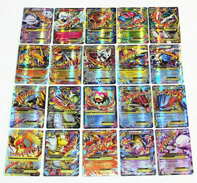 Pokemon EX GX MEGA Holo Flash Trading Cards No Repeat Charizard Bundle Xmas Gift