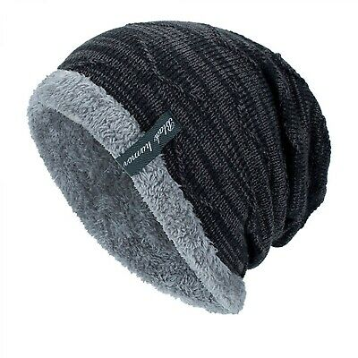 Police Thin Blue Line Hear Men Women Knitted Hat Soft Pure Color Hat