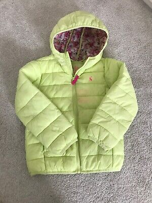 Girls Joules Coat Age 5 Years