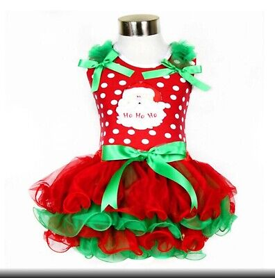 Girls Christmas Tutu Dress/Outfit Aged 18/24 Months