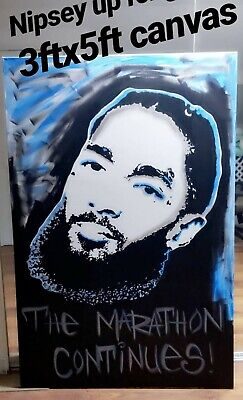 Nipsey Hussle 3ftx5ft canvas painting