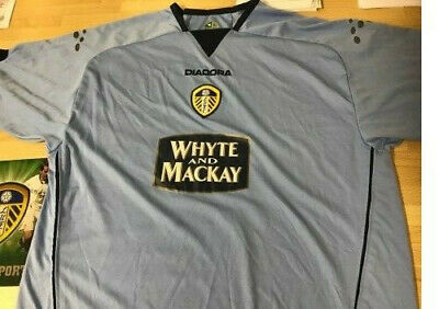 Leeds United Shirt LUFC Official Merchandise Football Club FC Never Worn XL Away