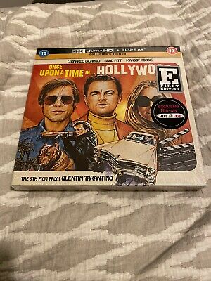 Once Upon A Time In Hollywood- 4K Ultra Hd+Blu-Ray Collectors- Hmv Ex-New/Sealed