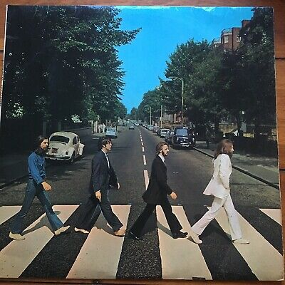 The Beatles ‎– Abbey Road - Apple Records ‎– PCS 7088 - Vinyl, LP no Her Majesty