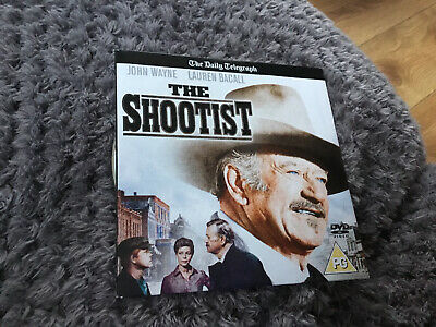 The Shootist DVD John Wayne Lauren Bacall James Stewart 1976 Classic Movie