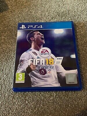 FIFA 18 PS4 Official Football Game PlayStation 4